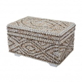 "Dimond Home 9.3"""" Shell Box in Natural"
