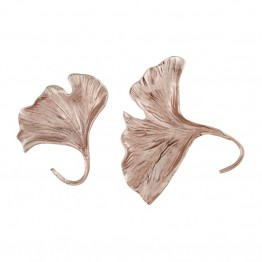 "Dimond Home Ginkgo """" 2 Piece Wall Sculpture Set in Rose Gold"