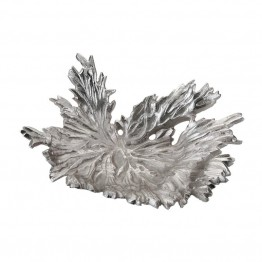 Dimond Home Star Leaf Bowl in Nickel