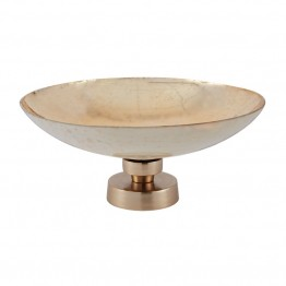 Dimond Home Mercury Bowl in Brushed Champagne and Gold Glass