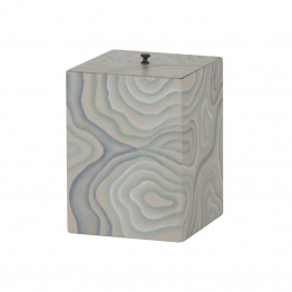 Dimond Home Coastal Agate Trash Can