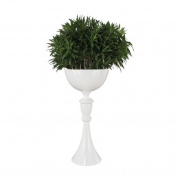 Dimond Home Jaya Planter in Gloss White