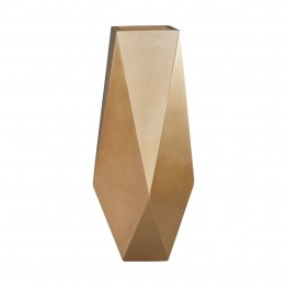 Dimond Home Qattara Planter in Champagne Gold