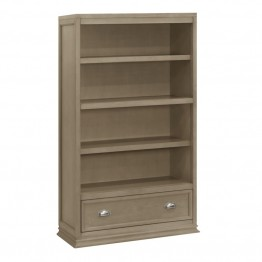 Franklin & Ben Mason 4 Shelf Bookcase in Graystone