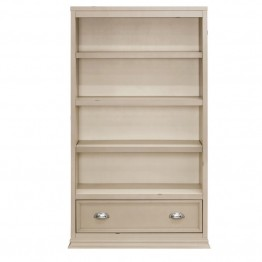 Franklin & Ben Mason 4 Shelf Bookcase in Distressed White