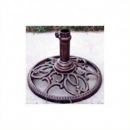 Oakland Living Round Umbrella Stand-Antique Pewter