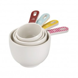 Cake Boss Countertop Accessories 4 Piece Melamine Measuring Cup Set