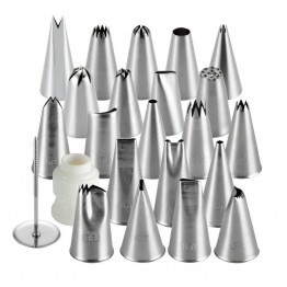 Cake Boss Decorating Tools 24 Piece Advanced Decorating Tip Set