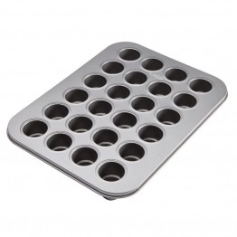 Cake Boss Nonstick 24 Cup Cake Pop Pan in Gray