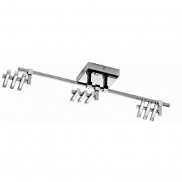 Elan Lighting Velse 3 Lights LED Track Light in Chrome