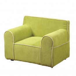 Furniture of America Zenner Upholstered Chair in Green