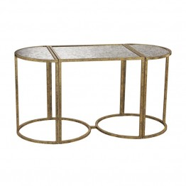 Sterling Versailles Accent Table in Gold