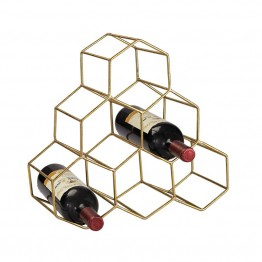 Sterling Wine Rack Wine Rack in Gold