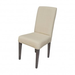 Sterling Couture Covers Chair Cover in Light Cream
