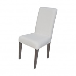 Sterling Couture Covers Chair Cover in Pure White
