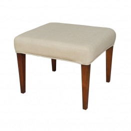 Sterling Couture Covers Bench Cover in Light Cream