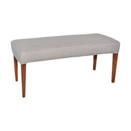 Sterling Couture Covers Bench Cover in Light Gray