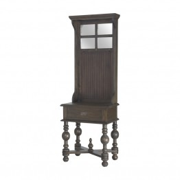 Sterling Heathcliff Hall Tree in Heritage Gray Stain
