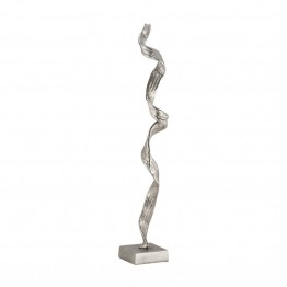 Sterling Floor Sculpture in Raw Nickel