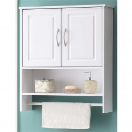 4D Concepts 2 Door Medicine Cabinet in White