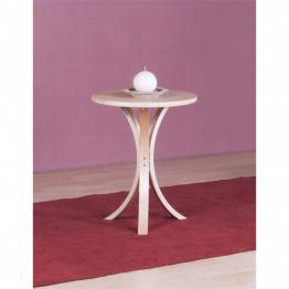 4D Concepts Danish Pedestal Table in Natural