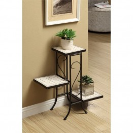 4D Concepts 3 Tier Plant Stand in Antique Tuscany