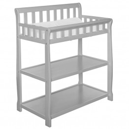 Dream On Me Ashton 2 in 1 Changing Table in Gray