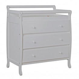 Dream On Me Liberty 3 Drawer Changing Table in Gray
