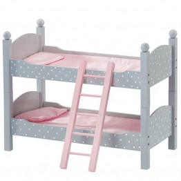 "Olivia's Little World Princess 18"""" Doll Furniture Double Bunk Bed"
