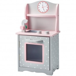 "Olivia's Little World Princess 18"""" Doll Sweet Kitchen in Gray"