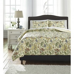 Ashley Damyan King Coverlet Set