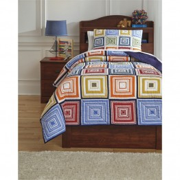 Ashley Tazzoni Twin Coverlet Set