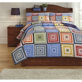 Ashley Tazzoni Full Coverlet Set