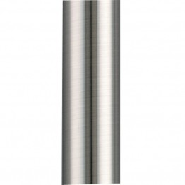 "Fanimation 48"""" Stainless Steel Downrod in Pewter"