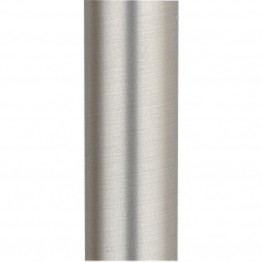 "Fanimation 48"""" Stainless Steel Downrod in Satin Nickel"