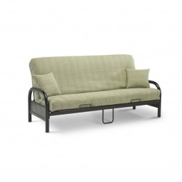 Pemberly Row Group Full Size Futon Frame in Black