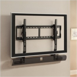 Pemberly Row Universal Adjustable Sound Bar Bracket