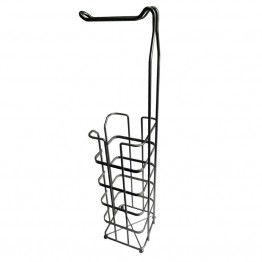 Elegant Home Fashions Toilet Paper Rack in Silver