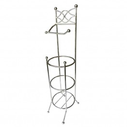 Elegant Home Fashions Toilet Paper Rack in Chrome