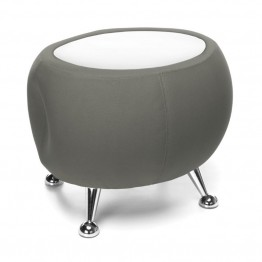 OFM Jupiter Reception Coffee Table in Gray and White