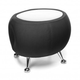 OFM Jupiter Reception Coffee Table in Black and White