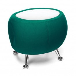 OFM Jupiter Reception Coffee Table in Green and White