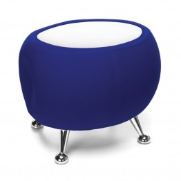 OFM Jupiter Reception Coffee Table in Blue and White