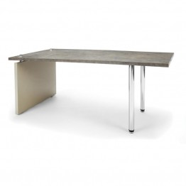 OFM Profile Series Reception Coffee Table in Painted Screen and Gray