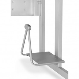 OFM CPU Holder for Training Tables in Gray