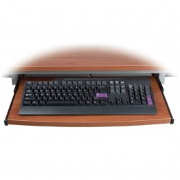 OFM Training Table Keyboard Tray in Cherry