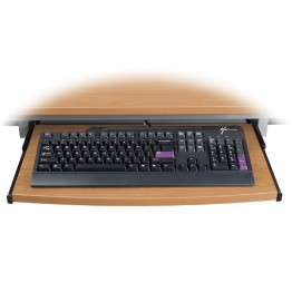 OFM Training Table Keyboard Tray in Maple