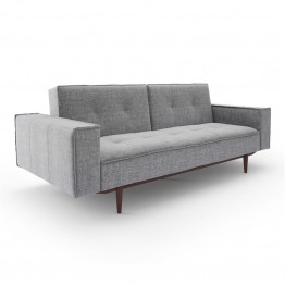 AEON Furniture Betsy Futon in Charcoal