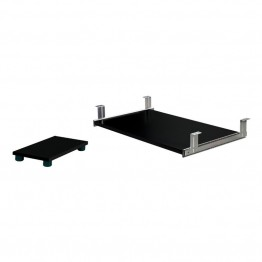 Bestar Keyboard Shelf and CPU Platform in Black