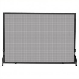 Uniflame Large Single Panel Olde World Iron Screen